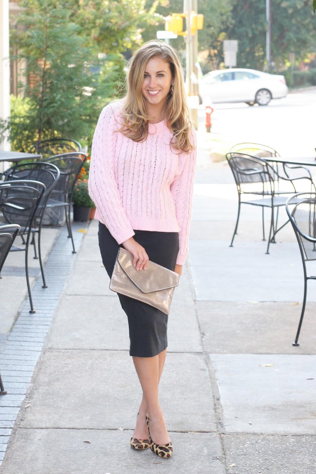 How to Wear a Midi Dress Preppy Glam , Sara Kate Styling
