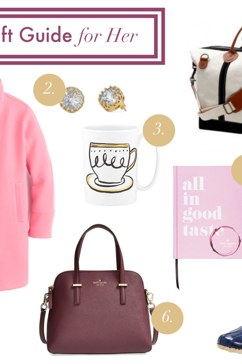 Holiday Gift Guide for Her {or Yourself}