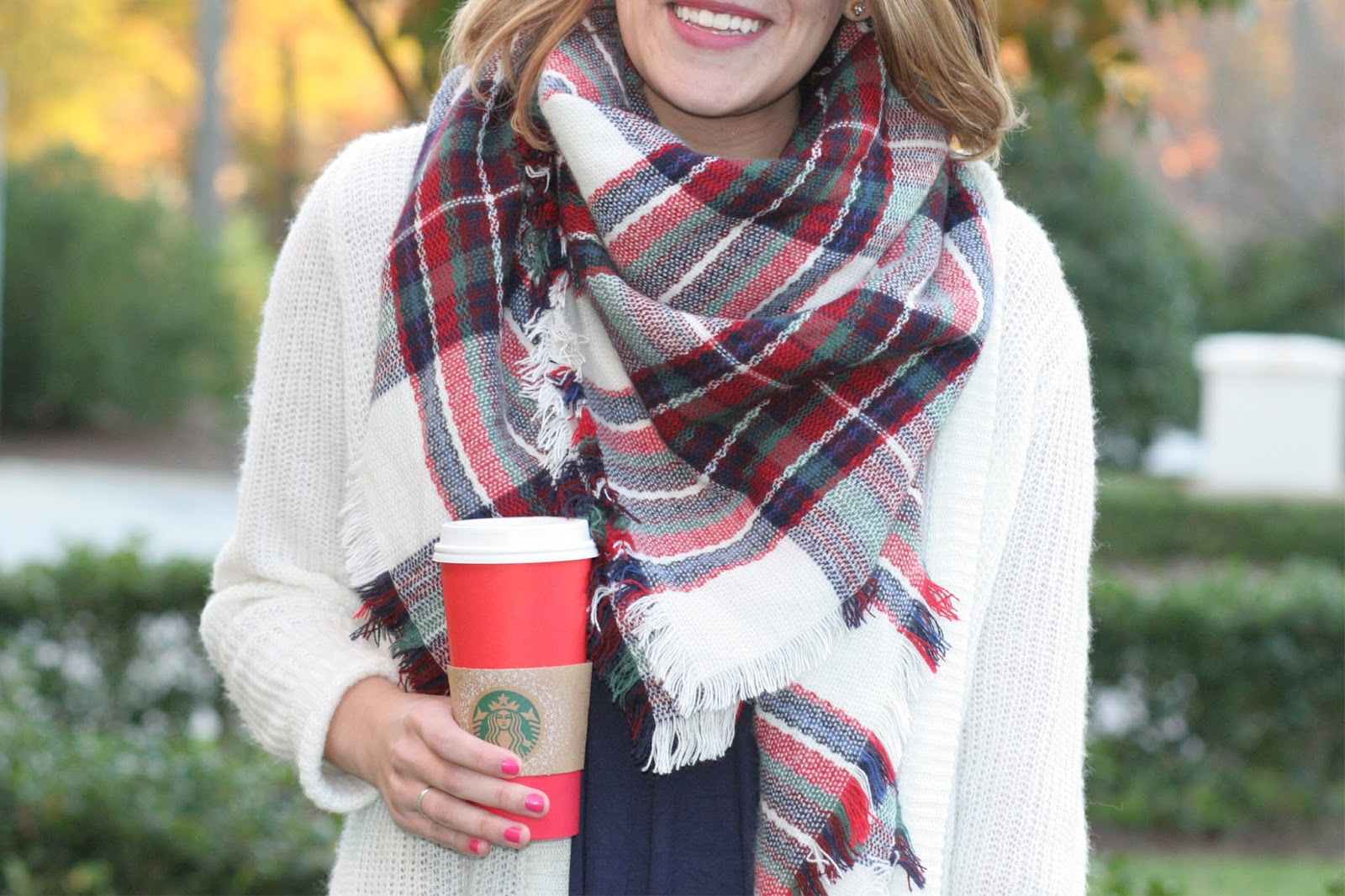 67e3a44aedd88 Blanket Scarf & Cardigan Layers - Sara Kate Styling