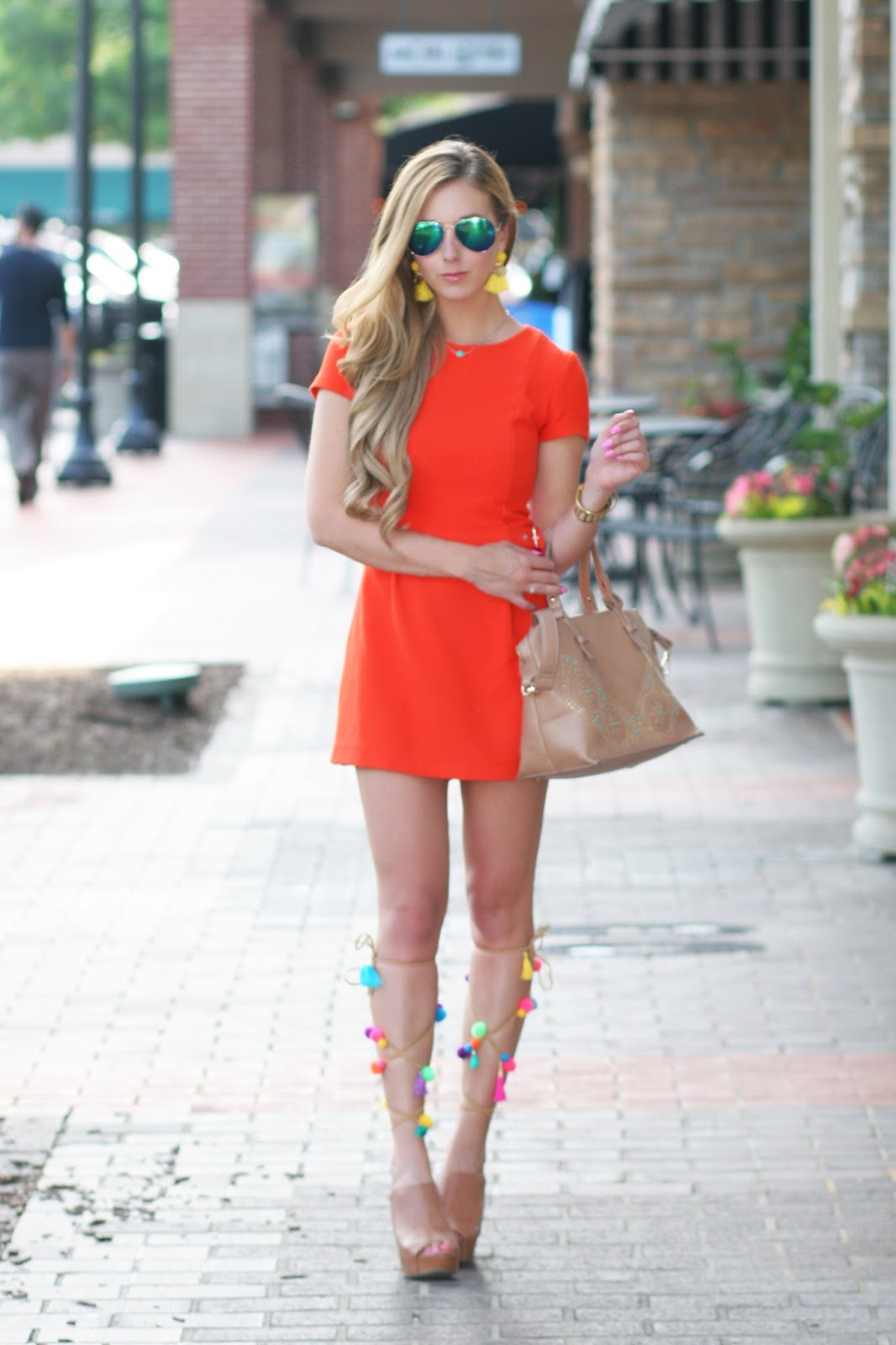 Bright Summer Romper for $39